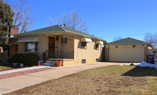 2122 S Xavier Street, Denver, CO 80219 (MLS #5495782) :: Kittle Real Estate