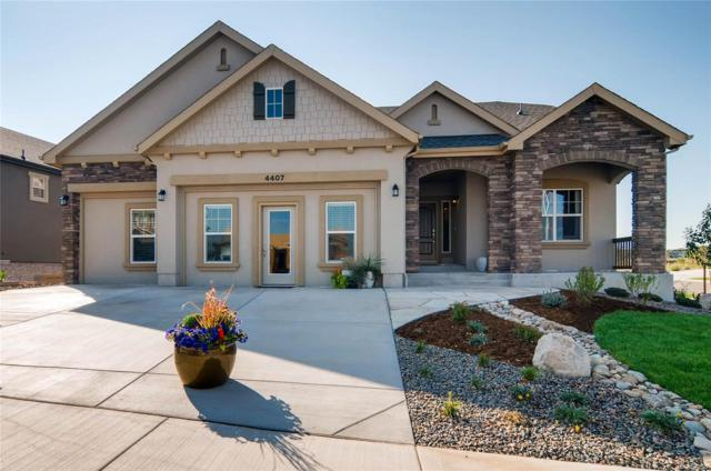 4407 Outlook Ridge Trail, Colorado Springs, CO 80924 (#5497982) :: Ben Kinney Real Estate Team