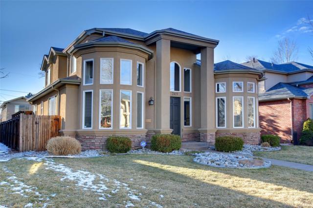 2419 S Cook Street, Denver, CO 80210 (#5498385) :: The Peak Properties Group