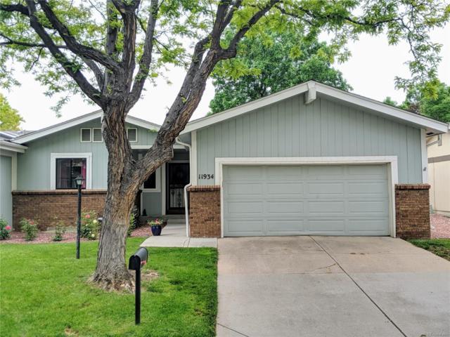 11934 E Maple Avenue, Aurora, CO 80012 (#5498928) :: The Peak Properties Group