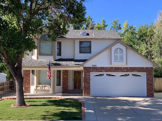 7283 S Allison Way, Littleton, CO 80128 (#5500334) :: 5281 Exclusive Homes Realty