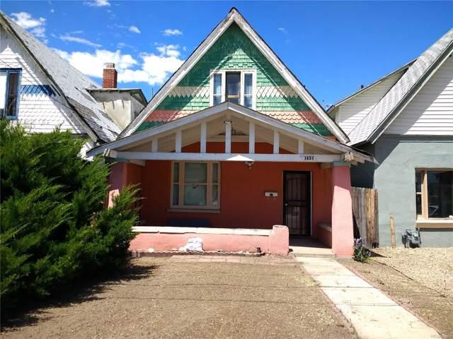 1421 S Acoma Street, Denver, CO 80223 (MLS #5501627) :: 8z Real Estate