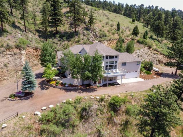 4756 Crawford Gulch Road, Golden, CO 80403 (#5502012) :: Wisdom Real Estate