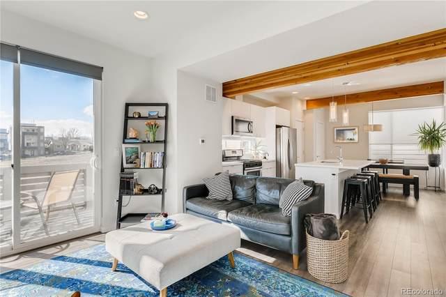 1239 Tennyson Street #5, Denver, CO 80204 (#5506596) :: Finch & Gable Real Estate Co.