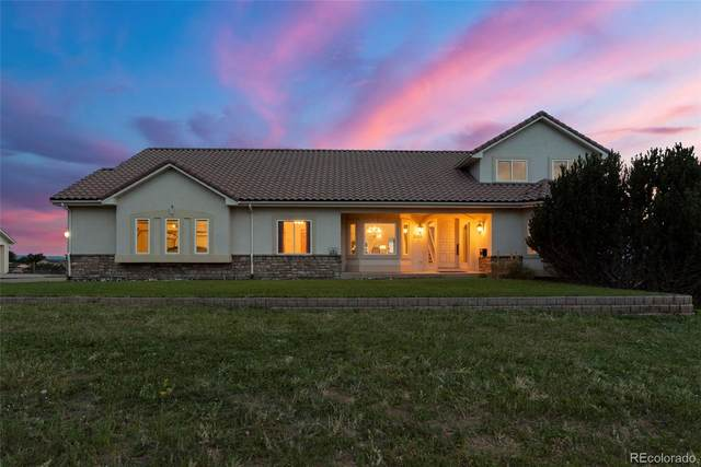 2105 Meadow Green Circle, Franktown, CO 80116 (#5507997) :: The Gilbert Group