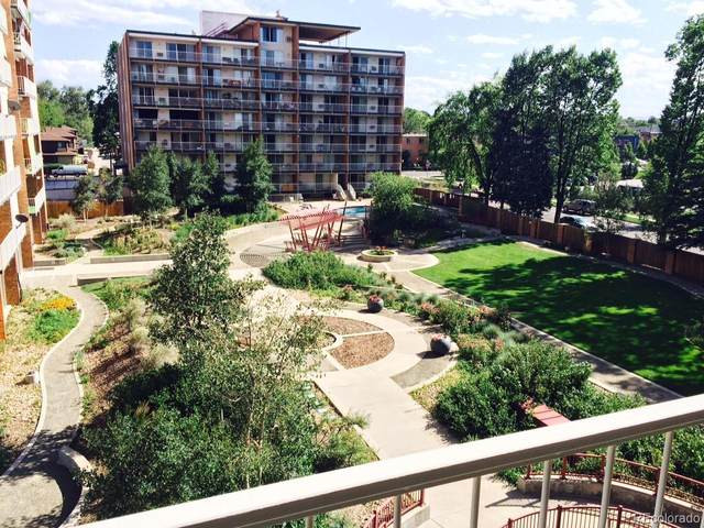 4800 Hale Parkway 410N, Denver, CO 80220 (#5509285) :: The Scott Futa Home Team