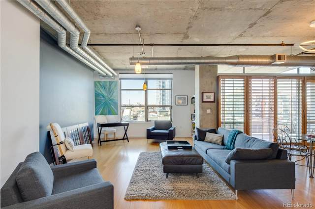 1401 Wewatta Street #618, Denver, CO 80202 (#5509728) :: Bring Home Denver with Keller Williams Downtown Realty LLC