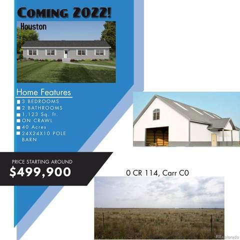 0 County Road 114, Carr, CO 80612 (#5512628) :: Portenga Properties