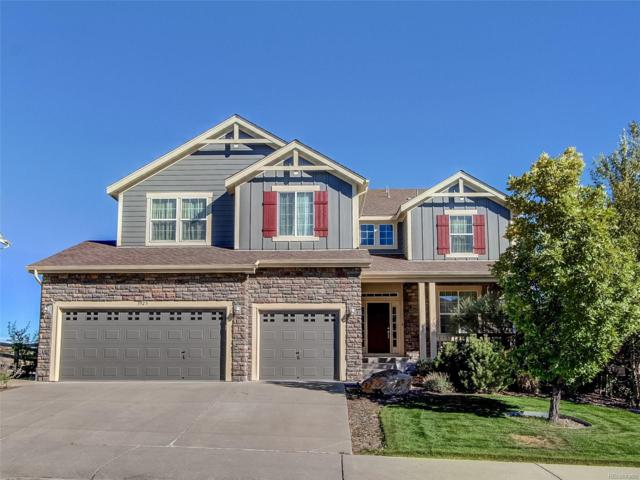 3923 Eagle Tail Lane, Castle Rock, CO 80104 (#5513821) :: The HomeSmiths Team - Keller Williams