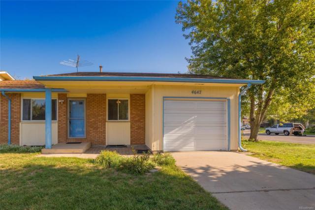 4647 W 9th Street, Greeley, CO 80634 (MLS #5514555) :: 8z Real Estate