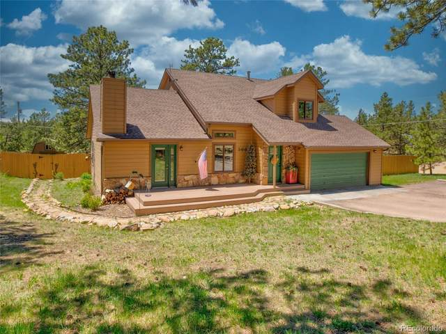 366 Piney Point Lane, Woodland Park, CO 80863 (#5517668) :: iHomes Colorado