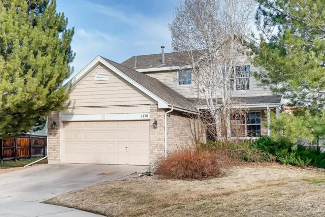 2770 Fernwood Circle, Broomfield, CO 80020 (#5518296) :: The Heyl Group at Keller Williams