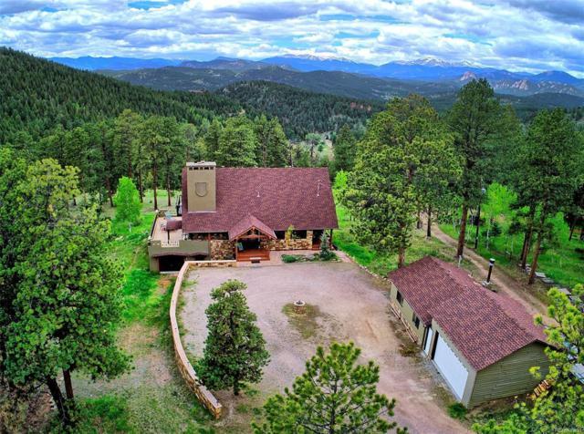 13533 S Wamblee Valley Road, Conifer, CO 80433 (#5524437) :: Wisdom Real Estate