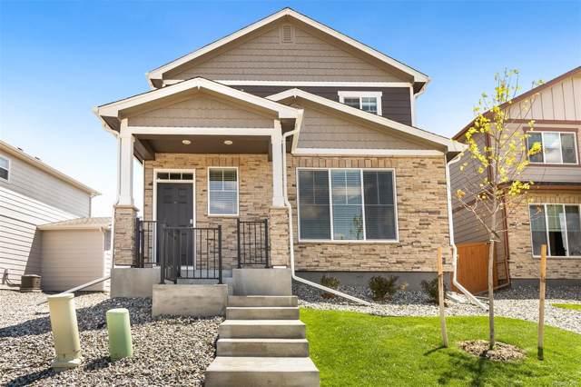 11769 Lovegrass Drive, Parker, CO 80138 (MLS #5526253) :: 8z Real Estate