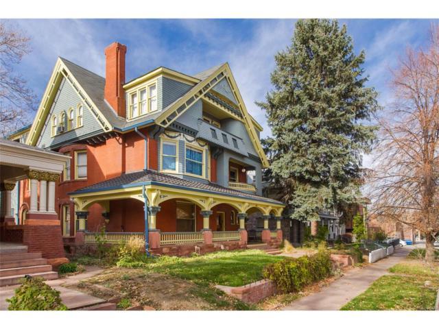 1435 Vine Street #2, Denver, CO 80206 (#5530866) :: House Hunters Colorado