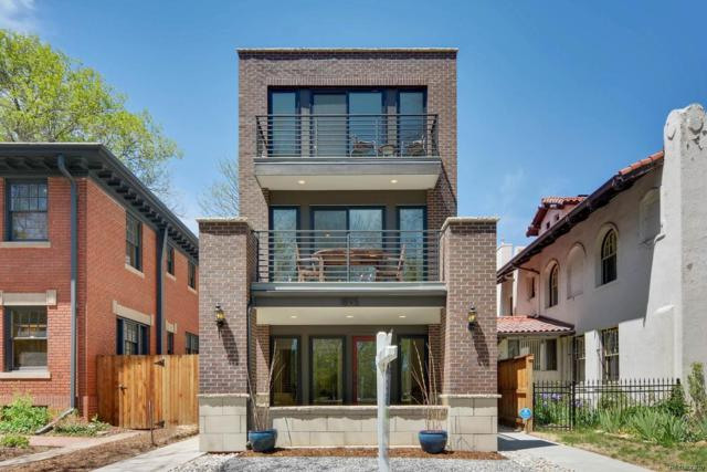 1895 N York Street, Denver, CO 80206 (#5531461) :: The Pete Cook Home Group