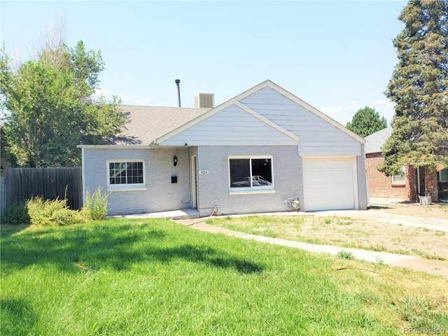 929 Forest Street, Denver, CO 80220 (MLS #5532051) :: 8z Real Estate