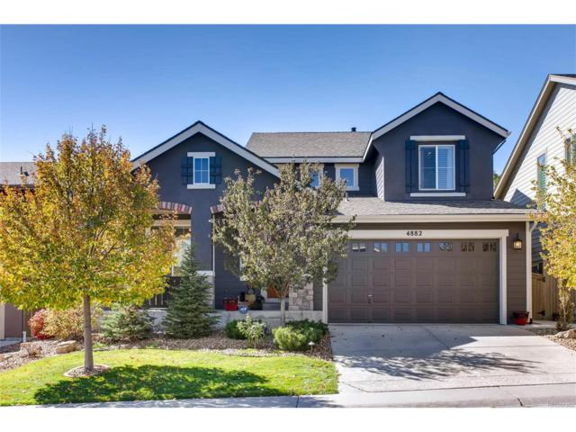 4882 Bluegate Lane, Highlands Ranch, CO 80130 (#5533577) :: The Griffith Home Team