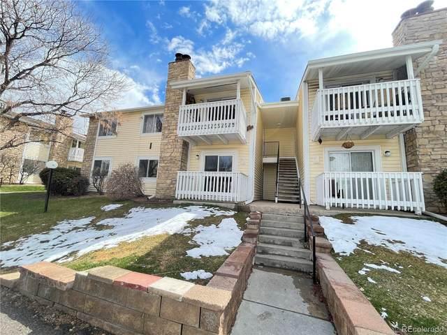 8555 Fairmount Drive I-104, Denver, CO 80247 (#5534039) :: Portenga Properties