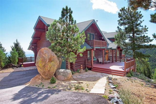 5335 Lost Cabin Road, Manitou Springs, CO 80829 (MLS #5534046) :: Kittle Real Estate