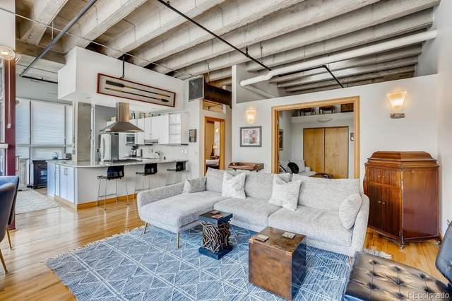 1020 15th Street #204, Denver, CO 80202 (#5538978) :: Chateaux Realty Group