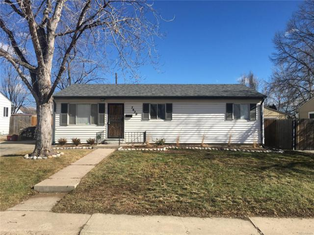 7820 Xavier Street, Westminster, CO 80030 (#5542259) :: House Hunters Colorado