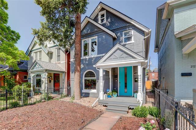 216 N Lincoln Street, Denver, CO 80203 (#5542334) :: Re/Max Structure
