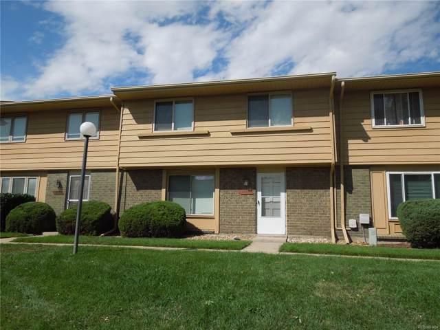 12444 E Kansas Place, Aurora, CO 80012 (#5543608) :: The Dixon Group