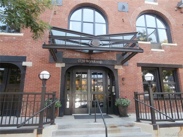 1720 Wynkoop Street #202, Denver, CO 80202 (#5545790) :: Chateaux Realty Group