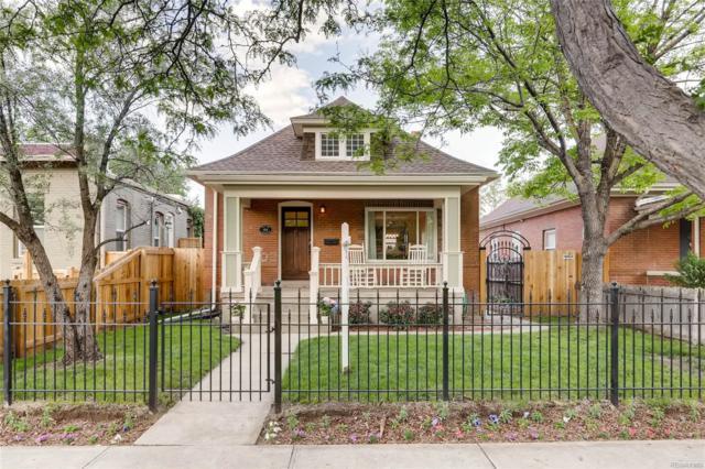 408 S Washington Street, Denver, CO 80209 (#5552832) :: House Hunters Colorado