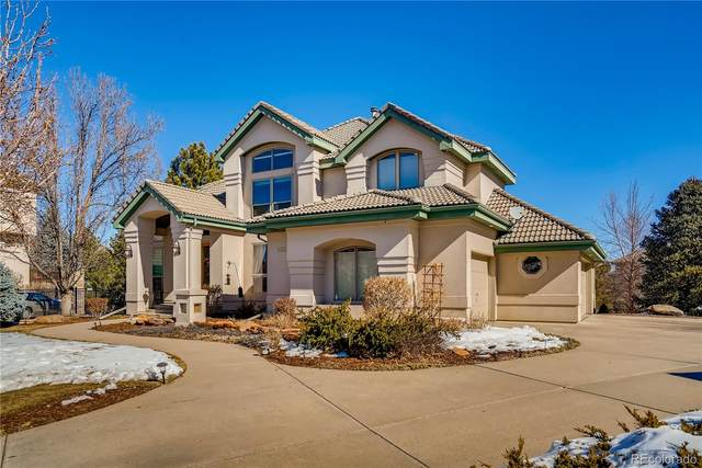 9307 E Star Hill Trail, Lone Tree, CO 80124 (#5554333) :: The Dixon Group