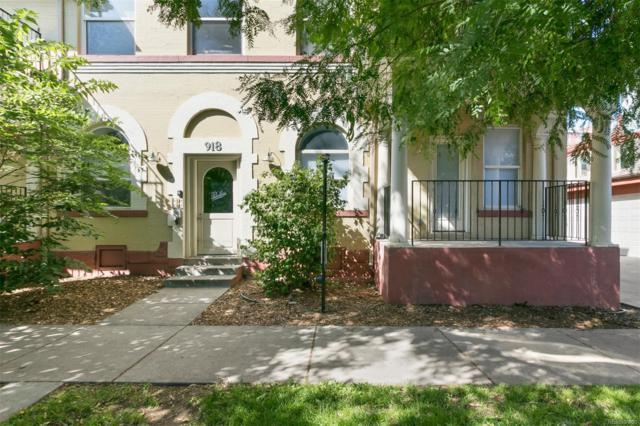 918 24th Street #101, Denver, CO 80205 (#5554732) :: James Crocker Team