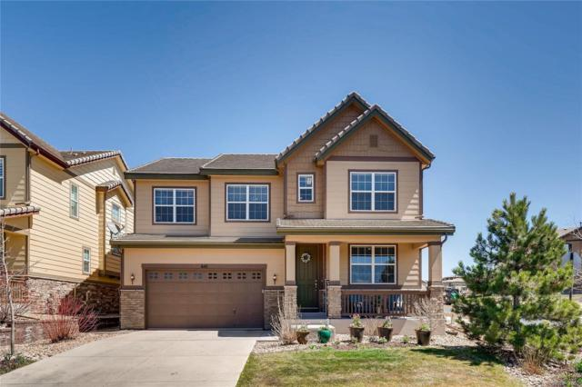 645 Tiger Lily Way, Highlands Ranch, CO 80126 (#5555031) :: House Hunters Colorado