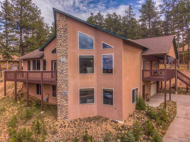 1535 Masters Drive, Woodland Park, CO 80863 (#5564772) :: The DeGrood Team