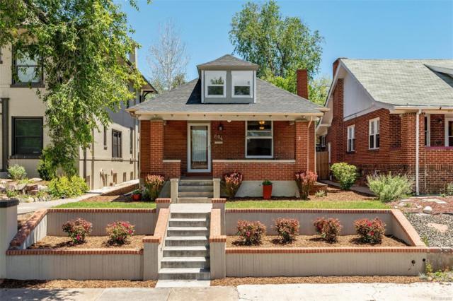 804 S Ogden Street, Denver, CO 80209 (#5566673) :: The HomeSmiths Team - Keller Williams