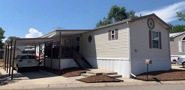 1801 W 92nd Avenue #397, Federal Heights, CO 80260 (#5566909) :: HomePopper