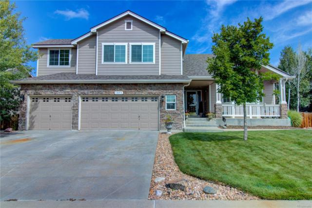 1851 Parkdale Circle S, Erie, CO 80516 (#5567083) :: The HomeSmiths Team - Keller Williams