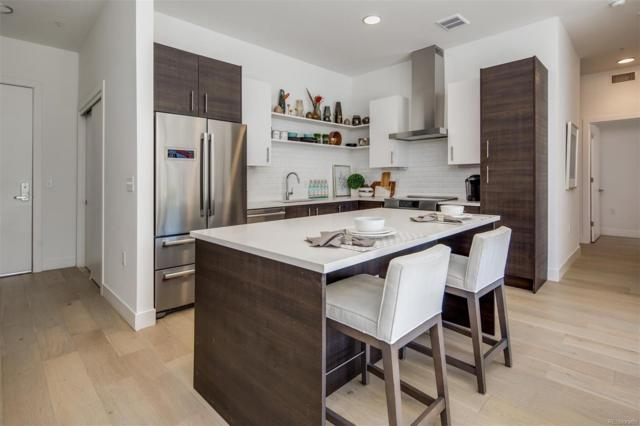 2525 Arapahoe Street #206, Denver, CO 80205 (#5568131) :: The Griffith Home Team