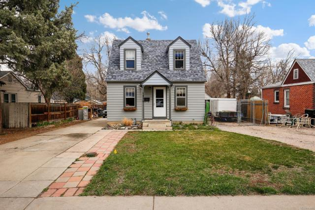 1556 Benton Street, Lakewood, CO 80214 (#5568934) :: The Peak Properties Group