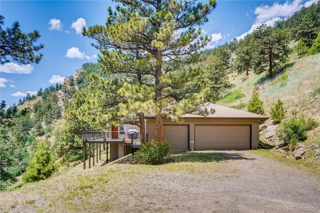 33035 Bergen Mountain Road, Evergreen, CO 80439 (#5570299) :: The Harling Team @ Homesmart Realty Group
