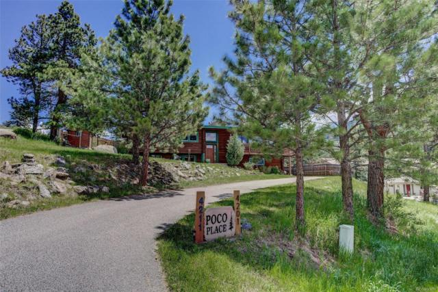 4211 Poco Place, Evergreen, CO 80439 (MLS #5572424) :: 8z Real Estate