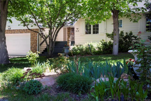 4530 S Verbena Street #315, Denver, CO 80237 (#5579672) :: Wisdom Real Estate