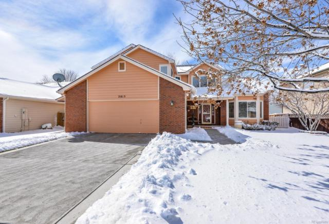 2815 Stonehaven Drive, Fort Collins, CO 80525 (#5581138) :: The Dixon Group