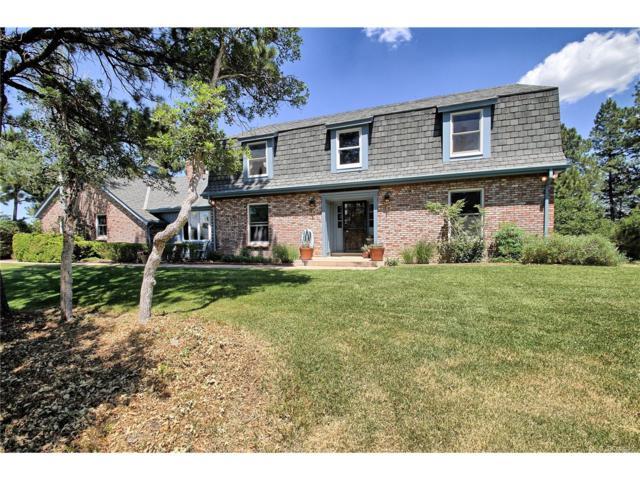 9002 Tanglewood Road, Franktown, CO 80116 (MLS #5584518) :: 8z Real Estate