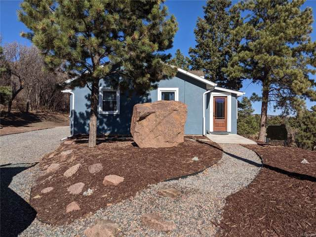 436 Buena Vista Avenue, Palmer Lake, CO 80133 (#5588421) :: The Margolis Team