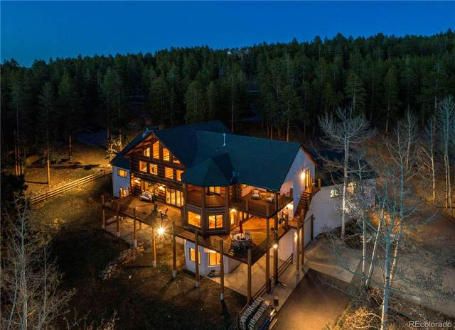 12255 Conifer Ridge Drive, Conifer, CO 80433 (#5589754) :: The Colorado Foothills Team | Berkshire Hathaway Elevated Living Real Estate
