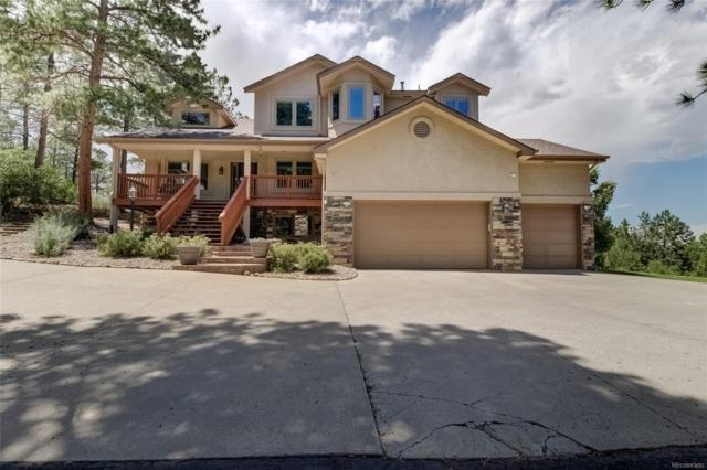 10924 Pine Valley Drive, Franktown, CO 80116 (#5590870) :: The Heyl Group at Keller Williams