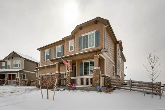 16904 E 111th Drive, Commerce City, CO 80022 (#5602952) :: The Peak Properties Group