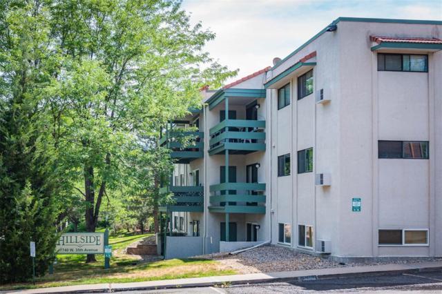7740 W 35th Avenue #214, Wheat Ridge, CO 80033 (#5603696) :: The Pete Cook Home Group