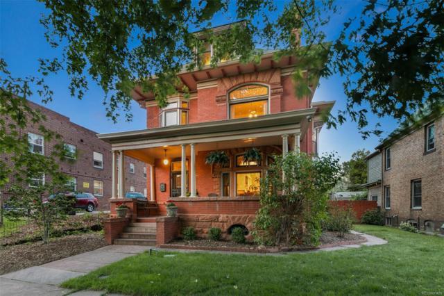 1154 Clarkson Street, Denver, CO 80218 (#5604786) :: The DeGrood Team